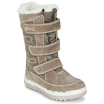 Chaussures Fille Bottes de neige Primigi FROZEN GTX Beige / Marron