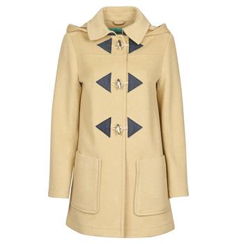 Vêtements Femme Manteaux Benetton 2BZP53655 Beige
