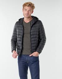 Vêtements Homme Doudounes Benetton 2BA253EU8 Noir