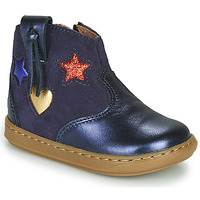 Chaussures Fille Baskets montantes Shoo Pom BOUBA WEST Bleu
