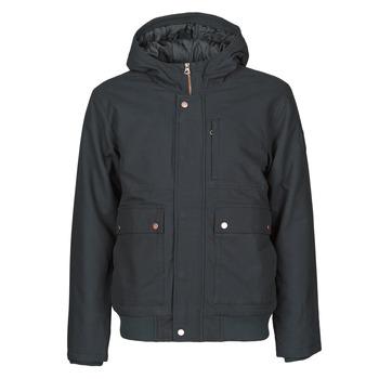 Vêtements Homme Blousons Quiksilver BROOKS M JCKT KVJ0 Noir