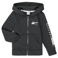Vêtements Garçon Sweats Puma ALPHA HOODED JACKET Noir
