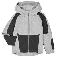 Vêtements Garçon Sweats Puma EVOSTRIPE HOODED JACKET Gris