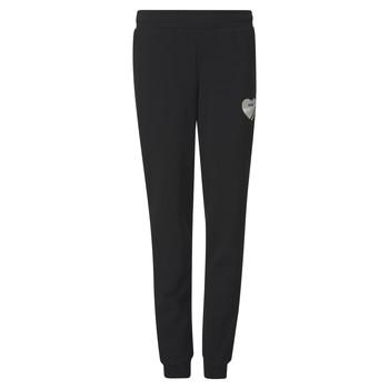 Vêtements Fille Pantalons de survêtement Puma ALPHA SWEAT PANT Noir