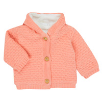 Vêtements Fille Gilets / Cardigans Noukie's Z050003 Rose