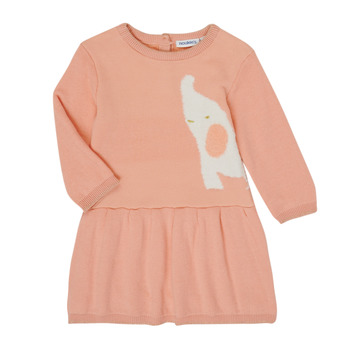 Vêtements Fille Robes courtes Noukie's Z050082 Rose
