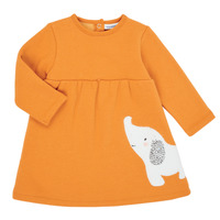 Vêtements Fille Robes courtes Noukie's Z050083 Orange