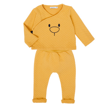 Vêtements Fille Ensembles enfant Noukie's Z050377 Jaune
