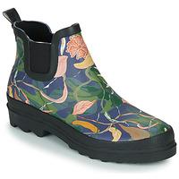 Chaussures Femme Bottes de pluie Sanita FELICIA WELLY Bleu