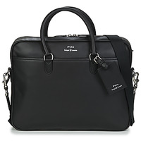 Sacs Homme Porte-Documents / Serviettes Polo Ralph Lauren COMMUTER-BUSINESS CASE-SMOOTH LEATHER Noir
