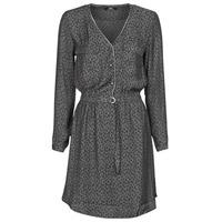Vêtements Femme Robes courtes Le Temps des Cerises RABA Gris / Noir