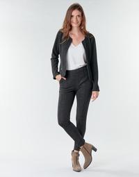 Vêtements Femme Pantalons 5 poches Le Temps des Cerises BIEBER Noir