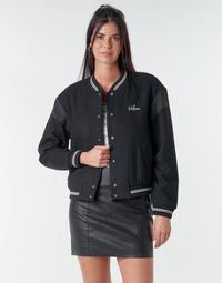 Vêtements Femme Blousons Volcom TINYTED BOMBER Noir