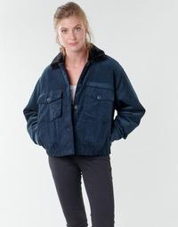 Vêtements Femme Blousons Volcom ARMY CORD JACKET Bleu