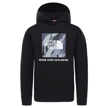 Vêtements Garçon Sweats The North Face NEW BOX CREW HODDIE Noir