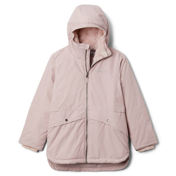 Vêtements Fille Parkas Columbia PORTEAU COVE MID JACKET Rose
