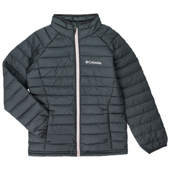 Vêtements Fille Doudounes Columbia POWDER LITE JACKET Noir
