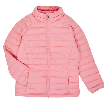 Vêtements Fille Doudounes Columbia POWDER LITE JACKET Rose