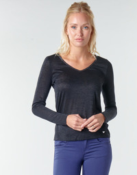 Vêtements Femme T-shirts manches longues Les Petites Bombes ADRIANA Noir
