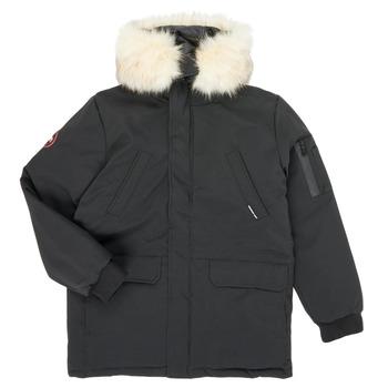 Vêtements Garçon Parkas Redskins VENISE Noir