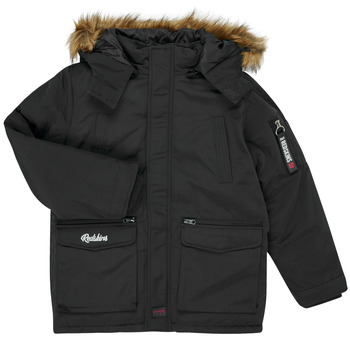 Vêtements Garçon Parkas Redskins REF-48105 Noir