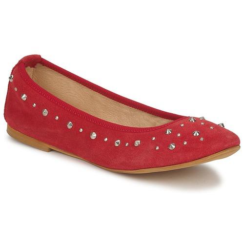Chaussures Femme Ballerines / babies Meline LUSON Rouge