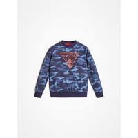 Vêtements Garçon Sweats Guess L0YQ01-K82T0-PC74 Bleu