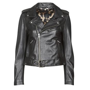 Vêtements Femme Vestes en cuir / synthétiques Oakwood RADIO Noir
