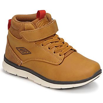 Chaussures Garçon Baskets montantes Umbro JAGGY VLC Marron