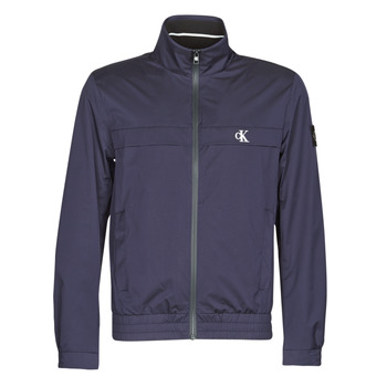 Vêtements Homme Blousons Calvin Klein Jeans ZIP UP HARRINGTON Marine