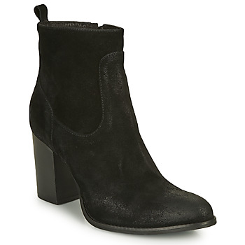 Chaussures Femme Bottines Sweet Lemon Idia Noir