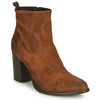 Chaussures Femme Bottines Sweet Lemon IDIA Cognac
