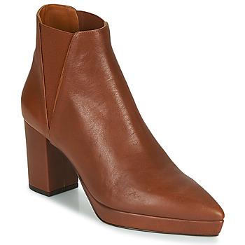 Chaussures Femme Bottines Castaner OSCA Cognac