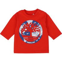 Vêtements Garçon T-shirts manches longues Timberland T95889 Rouge