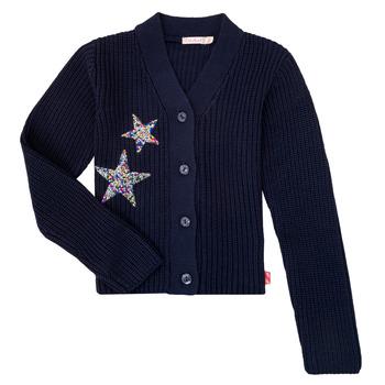 Vêtements Fille Gilets / Cardigans Billieblush / Billybandit U15758 Bleu