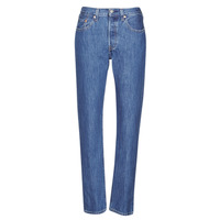Vêtements Femme Jeans boyfriend Levi's 501 CROP Sansome breeze stone