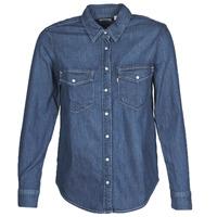 Vêtements Femme Chemises / Chemisiers Levi's ESSENTIAL WESTERN Bleu