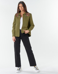 Vêtements Femme Jeans droit Levi's RIBCAGE STRAIGHT ANKLE  Black heart