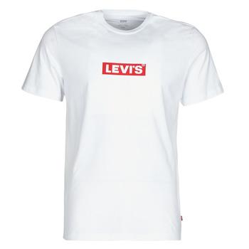 Vêtements Homme T-shirts manches courtes Levi's BOXTAB GRAPHIC TEE Blanc