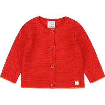 Vêtements Fille Gilets / Cardigans Carrément Beau Y95225 Rose