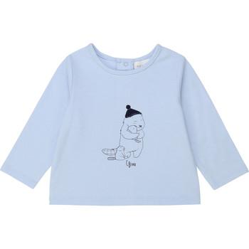 Vêtements Garçon T-shirts manches longues Carrément Beau Y95249 Bleu