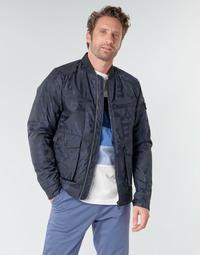 Vêtements Homme Blousons Scotch & Soda JACQUARD BOMBER Marine