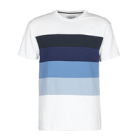 Vêtements Homme T-shirts manches courtes Scotch & Soda LOT 22 PRENIUM MULTI Blanc / Bleu