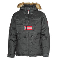 Vêtements Homme Parkas Geographical Norway BENCH Noir