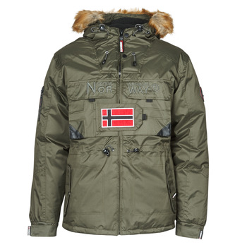 Vêtements Homme Parkas Geographical Norway BENCH Kaki