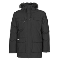 Vêtements Homme Parkas Geographical Norway BATNA Noir