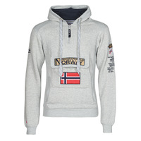Vêtements Homme Sweats Geographical Norway GYMCLASS Gris Mélange