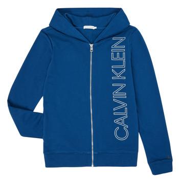 Vêtements Garçon Sweats Calvin Klein Jeans IB0IB00668-C5G Bleu