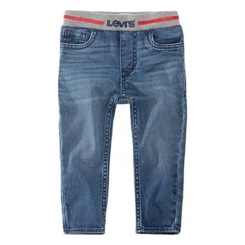 Vêtements Garçon Jeans skinny Levi's PULL-ON SKINNY JEAN Bleu