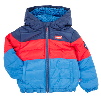 Vêtements Garçon Doudounes Levi's COLOR BLOCK PUFFER  Multicolore